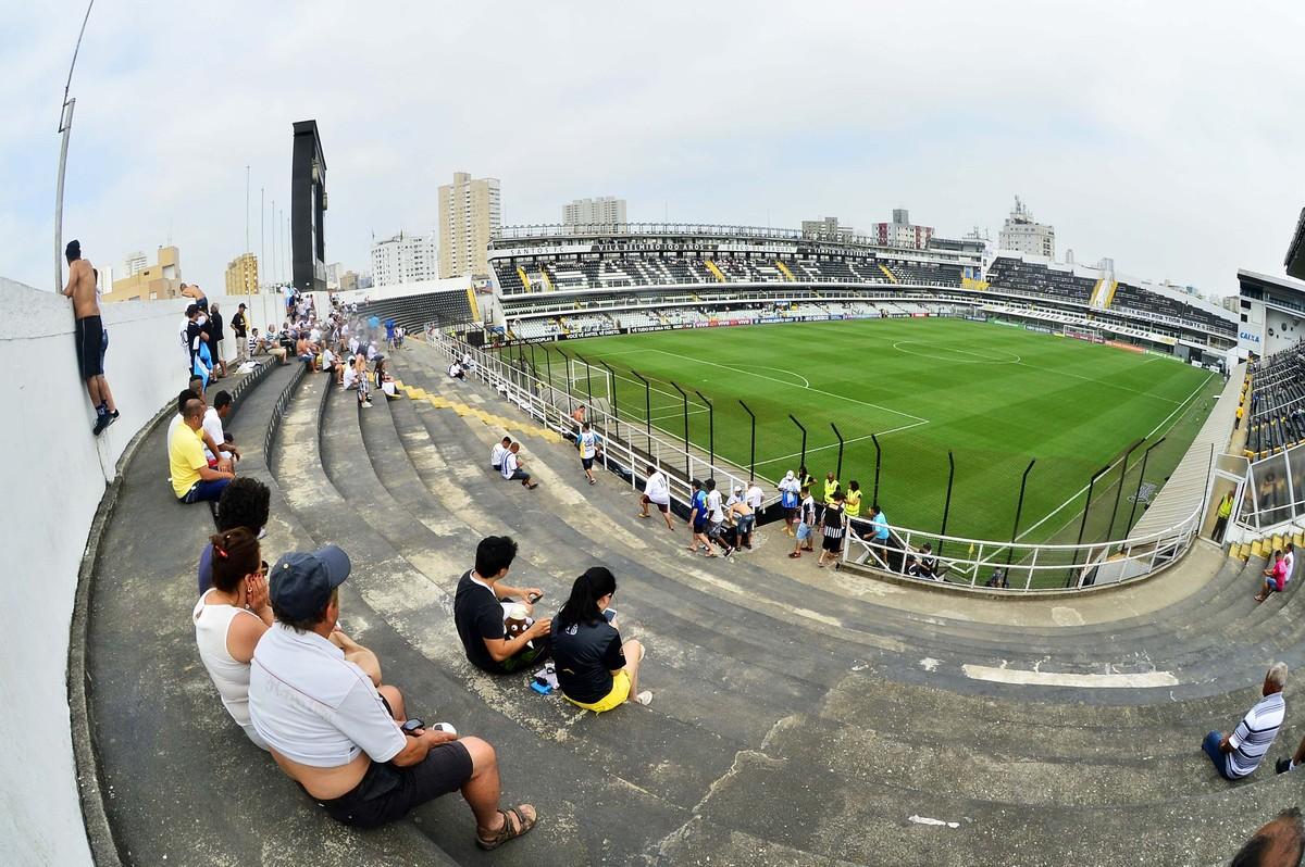 Santos inicia venda de ingressos para jogo contra o Bragantino 9198fff21c1a6