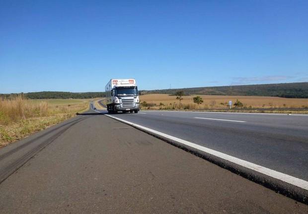 caminhão, estrada, transportes (Foto: Imagem Divulgação/CNT)