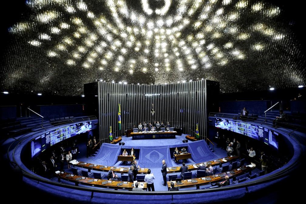 41 suplentes de senadores assumiram o mandato desde fevereiro de 2011 (Foto: Marcos Oliveira/Agência Senado)