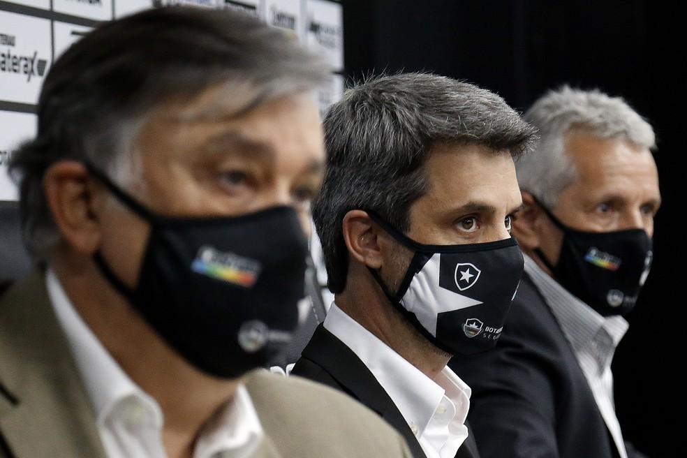 Diretoria do Botafogo mira alto no mercado em busca de técnicos  — Foto: Vitor Silva/Botafogo