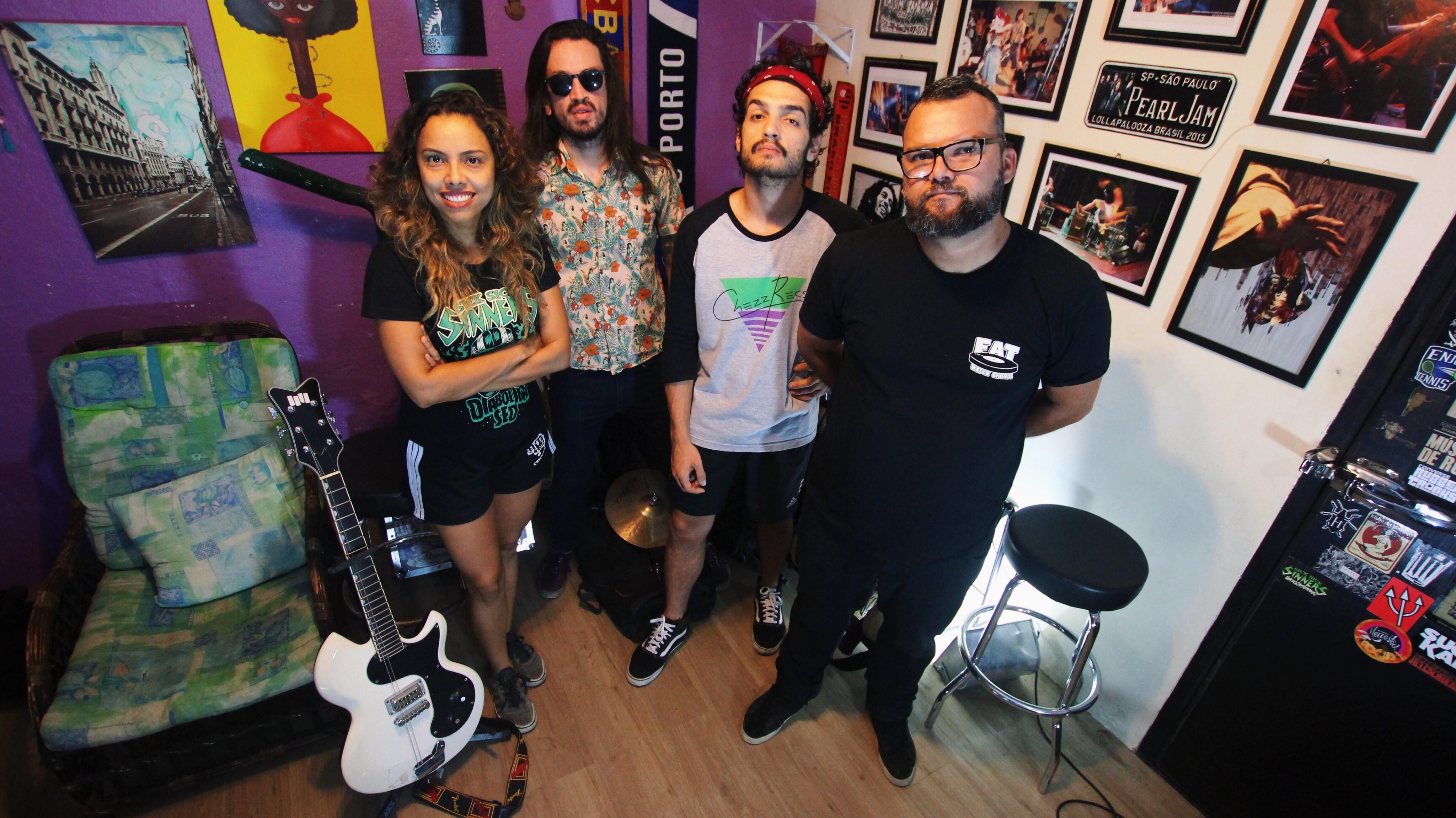 Camarones Orquestra Guitarrística se apresenta no Pólvora Cultural, em João Pessoa - Notícias - Plantão Diário
