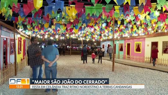 """""""Maior São João do Cerrado"""" traz ritmo nordestino para terras candangas"""