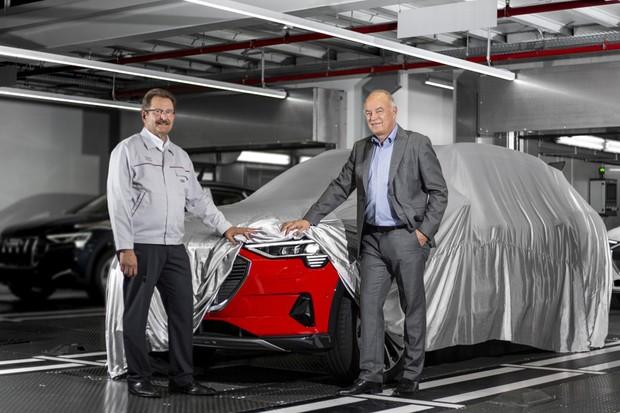E-Tron é o primeiro SUV elétrico da Audi (Foto: Divulgação)