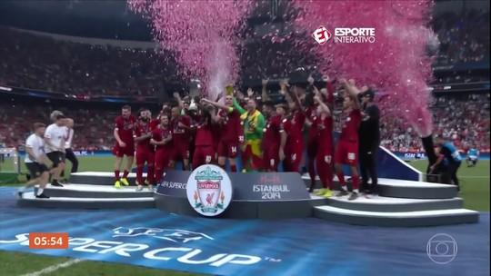 Jogadores brasileiros fazem a diferença em partida da Supercopa da Europa