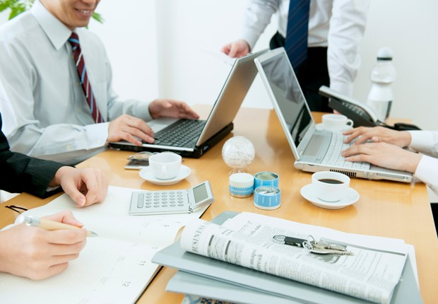 Soluções integradas facilitam os trabalhos colaborativos remotos (Foto: ThinkStock)