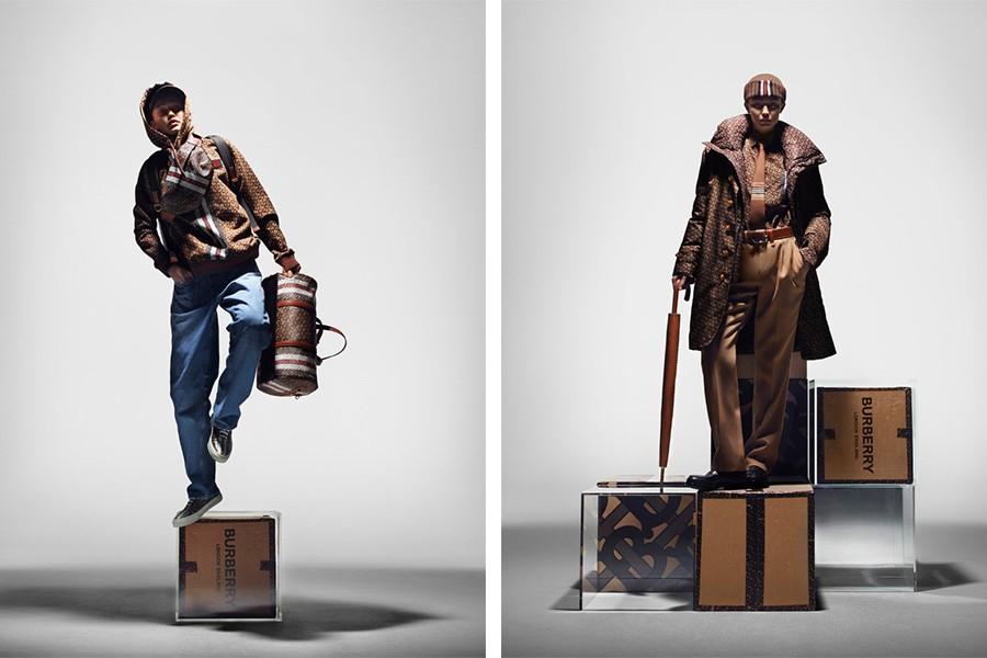The Boy e The Gentleman representam os dois tipos de consumidor masculino da Burberry (Foto: divulgação)