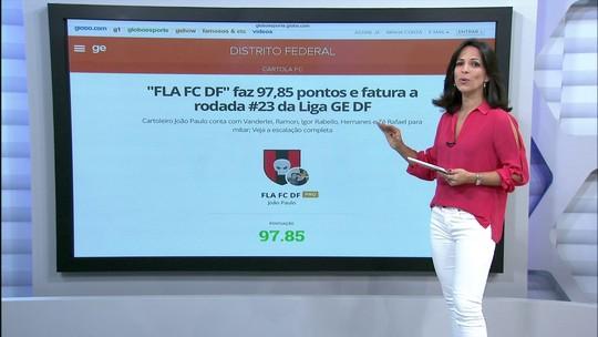 """""""FLA FC DF"""" faz 97,85 pontos e fatura a rodada #23 da Liga GE DF"""
