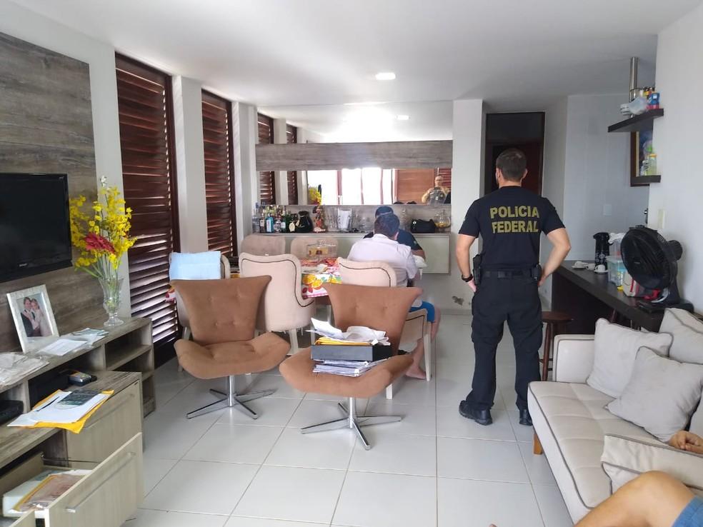 PF deflagrou a quarta fase da operação Recidiva, na Paraíba — Foto: Divulgação/Polícia Federal