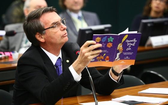 O deputado federal Jair Bolsonaro (Foto: Antonio Augusto / Câmara dos Deputados)