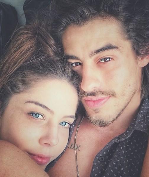 Bia Arantes e o namorado, Vinicius Redd (Foto: Reprodução/ Instagram)