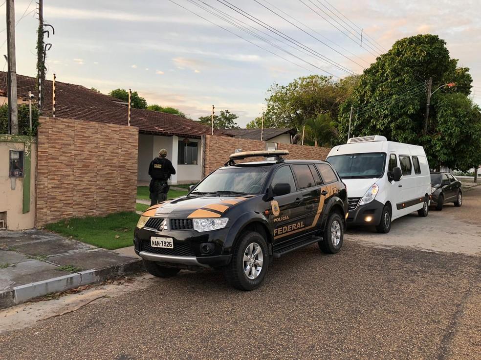 Operação mira esquema de contrabando de ouro venezuelano por Roraima — Foto: Divulgação/PF
