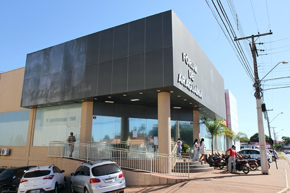 Audiência foi realizada no fórum de Araguaína (Foto: Divulgação/Tribunal de Justiça)