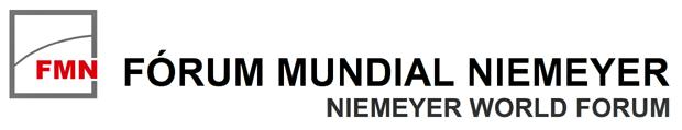 Logo do Fórum Mundial Niemeyer (Foto: Instituto Niemeyer/Divulgação)
