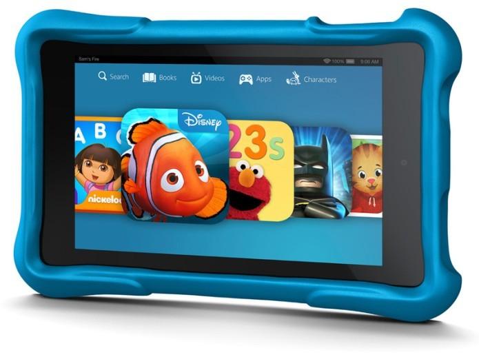 O Fire HD Kids Edition oferece controles especiais para os pais e o acesso ao serviço FreeTime Unlimited por um ano (Foto: Divulgação)