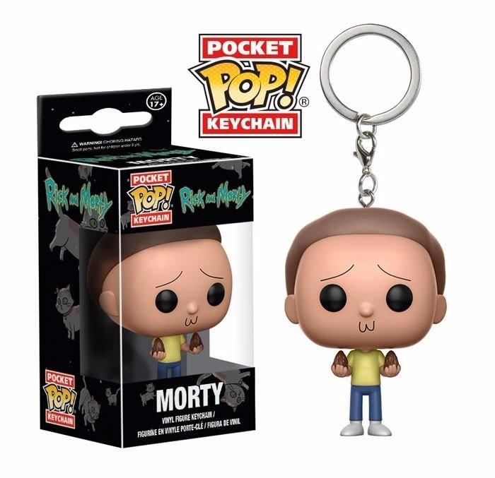 Olha, Rick! É o Morty em um chaveiro (Foto: Divulgação)