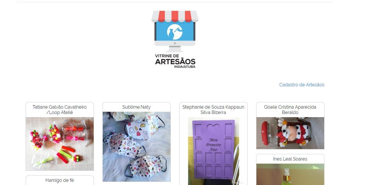 Coronavírus: Indaiatuba lança plataforma digital para retomar vendas dos artesãos da cidade