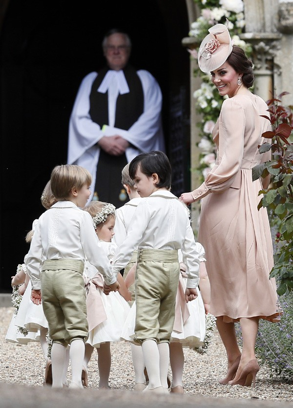 Kate Middleton no casamento da irmã Pippa Middleton (Foto: Getty Images)