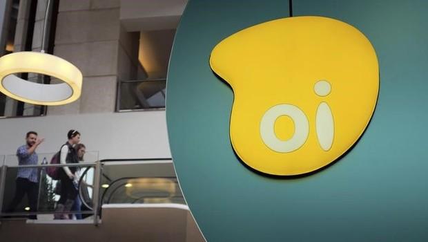 Logo da Oi é visto em shopping de São Paulo - sede da Oi (Foto: Nacho Doce/Reuters)