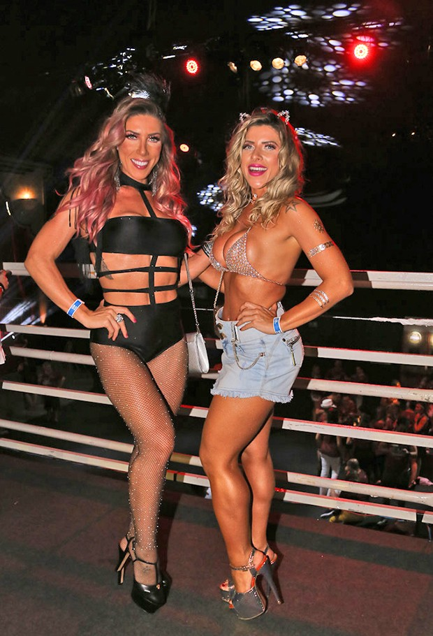 Tati Minerato e Ana Paula Minerato (Foto: Cláudio Augusto/ Brazil News)