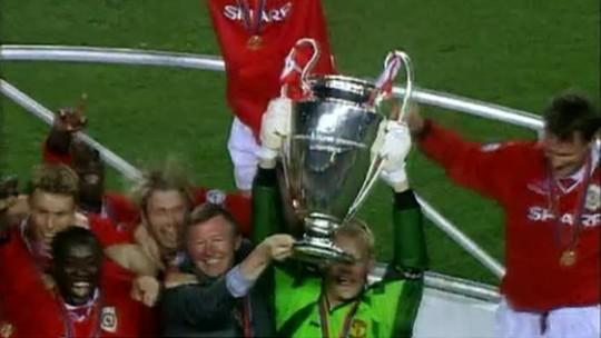 Último título de Liga dos Campeões do Manchester United completa 10 anos