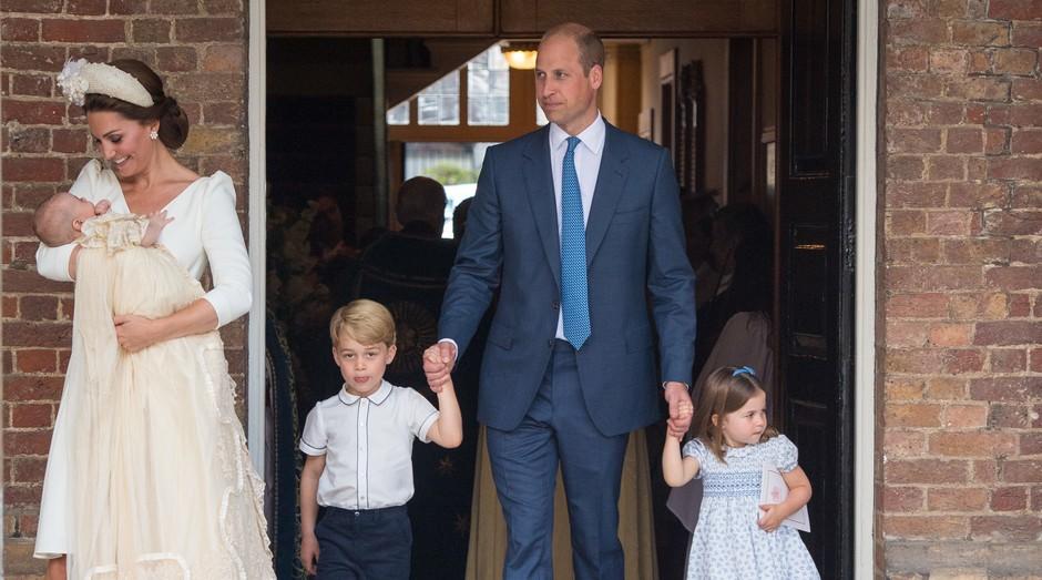 Família real: cliente fiel da loja de roupas infantis Peppa & Co (Foto: Getty Images)