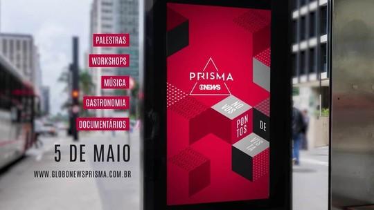 Festival GloboNews Prisma 2018 será no dia 5 de maio; veja os destaques