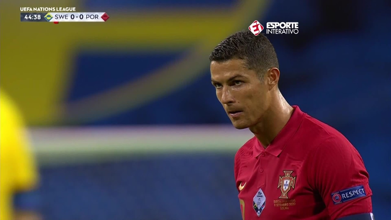 Suécia 0 x 2 Portugal: Cristiano faz o 100º pela seleção
