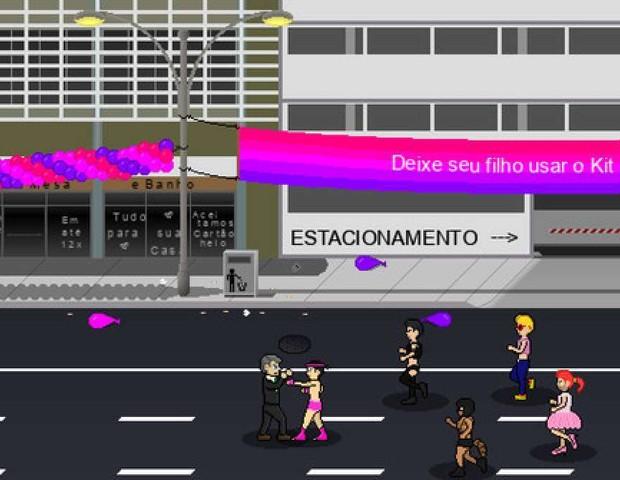 A B2 Studios, desenvolvedora de games da Austrália, criou um jogo onde o usuário se coloca na pele do presidenciável Jair Bolsonaro (Foto: Reprodução / Steam)