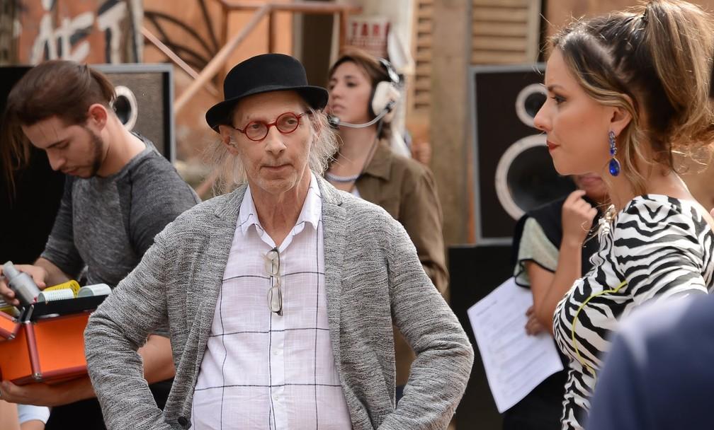 Saccomani também foi produtor musical do SBT — Foto: João Raposo