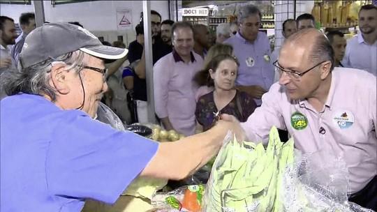 Alckmin diz que se eleito criará fundo para ajudar agricultores quando houver catástrofes