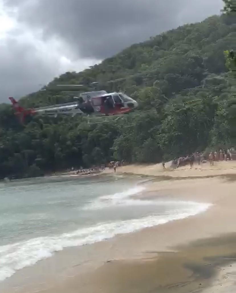 Homem morre afogado na Praia do Bonete em Ubatuba, SP