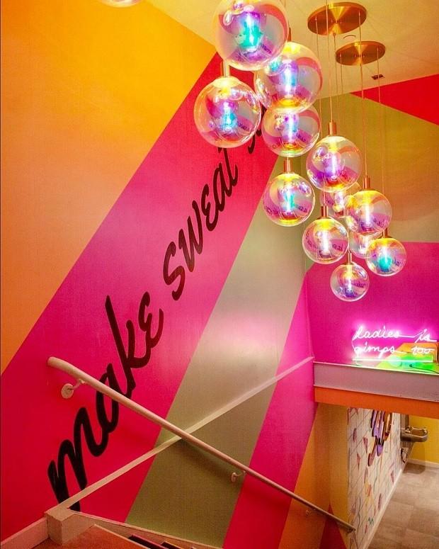 6 ideias que decoração que amamos nesta academia em Nova York (Foto: Reprodução)