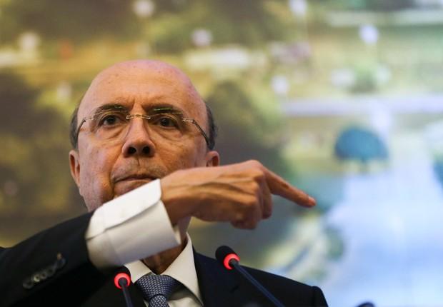 O ministro da Fazenda Henrique Meirelles (Foto: Marcelo Camargo/Agência Brasil)