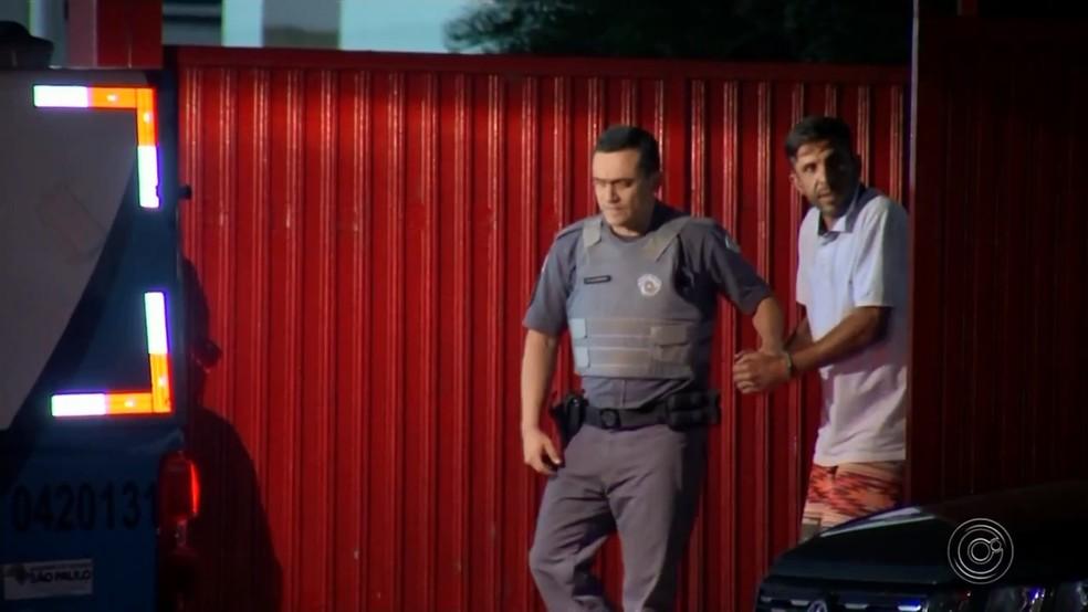 Rodrigo teve a prisão preventiva decretada após morte da Mariana Bazza — Foto: TV TEM/Reprodução