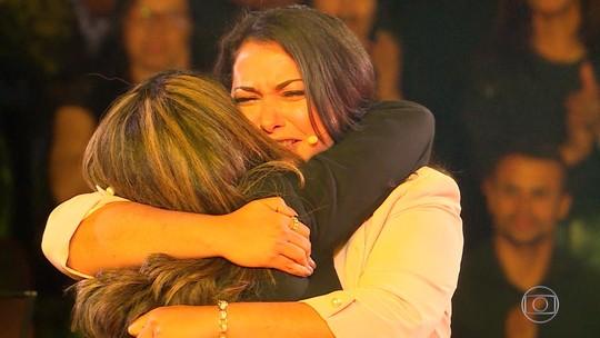 Irmãs dão sorte e garantem prêmio de mais de R$ 100 mil no 'The Wall'