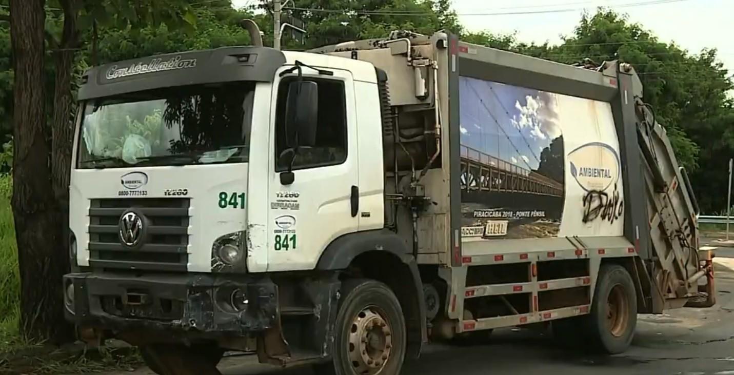 Anunciados para fevereiro, novos caminhões de lixo de Piracicaba não foram entregues, diz sindicato