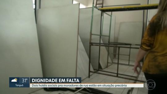 Hotéis sociais no Centro e Zona Norte do Rio estão em situação precária