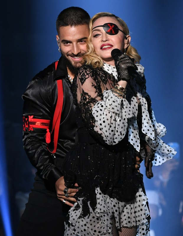 Maluma e Madonna (Foto: Getty Images)