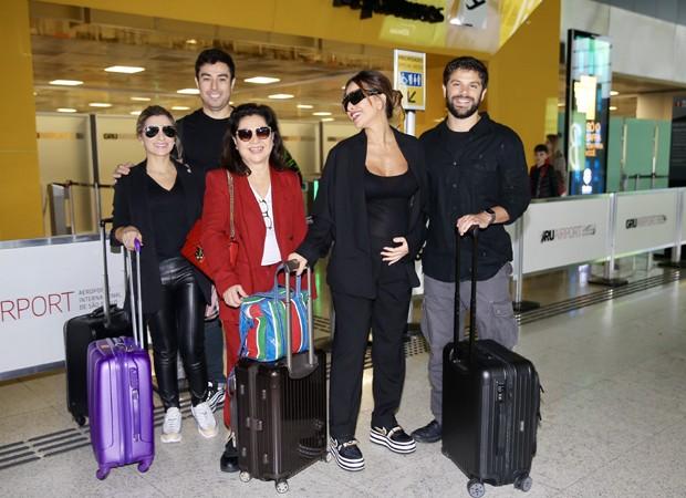 Gabi Paludeto, Karin Sato, Kika Sato, Sabrina Sato e Duda Nagle (Foto: Manuela Scarpa/Brazil News)