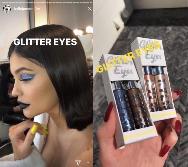 Kylie Jenner divulgou sua nova coleção nas redes sociais (Foto: Reprodução / Instagram)