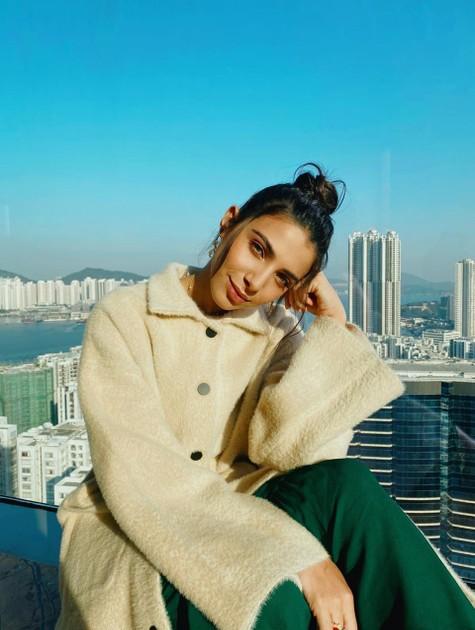 Rayssa Bratillieri na China (Foto: Divulgação)