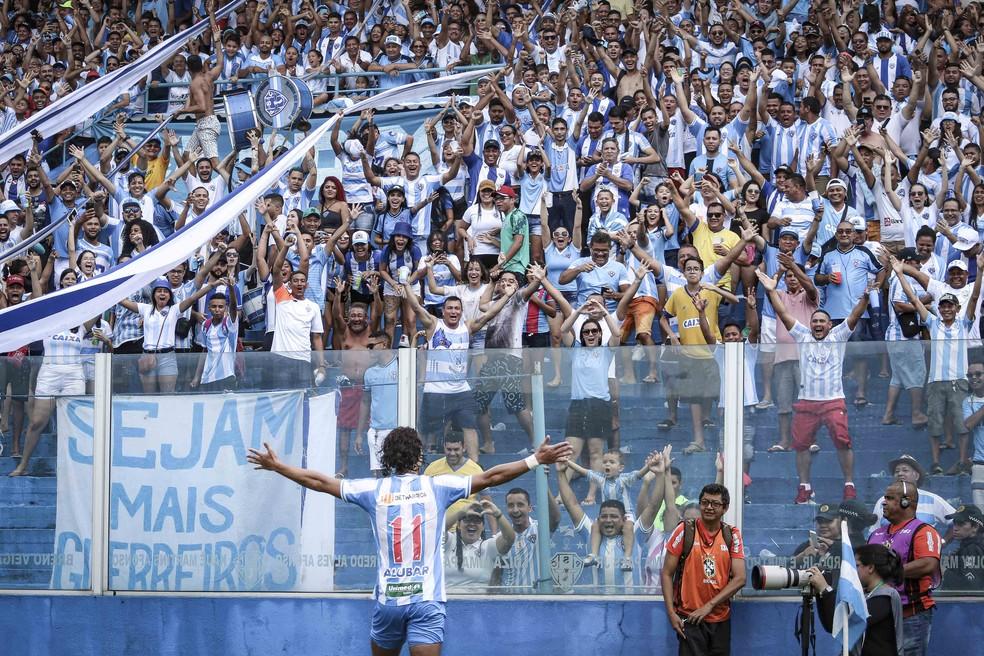 Nicolas tem contrato com o Paysandu até o fim de 2022 — Foto: Jorge Luiz/Ascom Paysandu