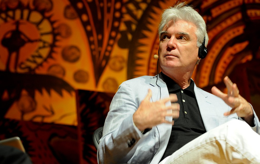 -  David Byrne na Flip 2011  Foto: Flavio Moraes/G1