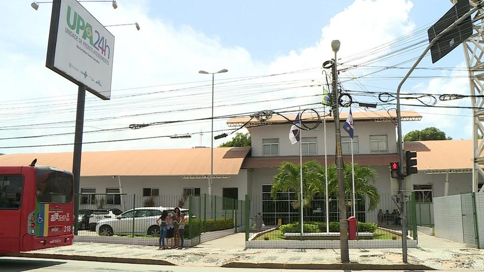 Unidade de Pronto Atendimento fica no bairro da Imbiribeira, na Zona Sul do Recife (Foto: Reprodução/TV Globo)