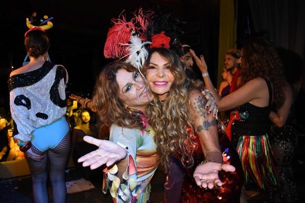 Nena Queiroga e Elba Ramalho (Foto: Felipe Souto Maior/Agnews)