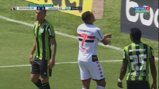 Felipe Conceição diz que América-MG merecia vitória, mas valoriza ponto somado em Ribeirão Preto