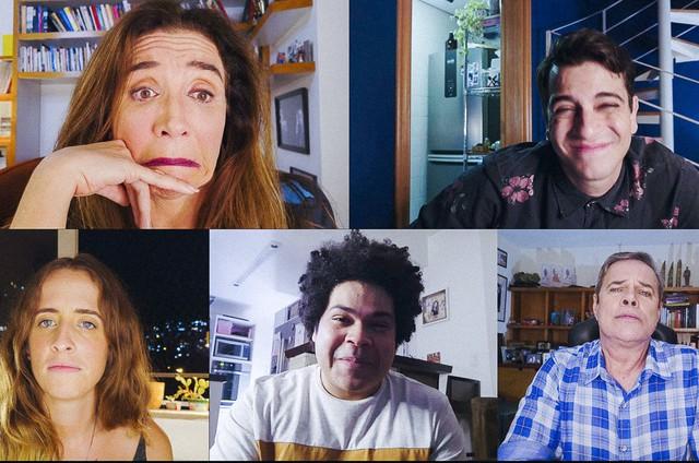 Cena da temporada atual do 'Zorra' (Foto: TV Globo)