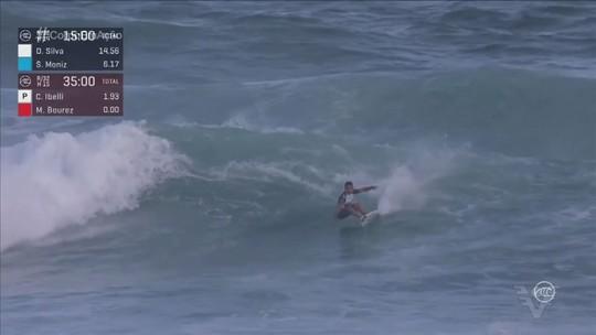 Estreante na elite mundial do surfe, Deivid Silva fala sobre vitória no Ballito Pro