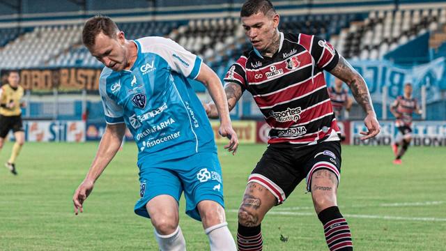 Paysandu 1 x 0 Santa Cruz, pela Série C