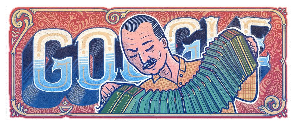 Astor Piazzolla é considerado o reinventor do tango — Foto: Reprodução/Google